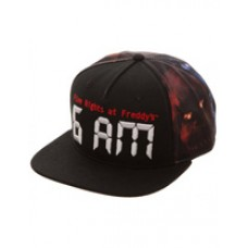 Five Nights at Freddys 6AM Snapback