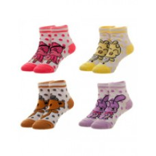 Five Nights at Freddys Youth Ankle Socks 4 Pack