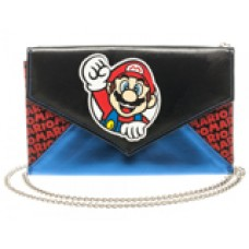 Super Mario Envelope Wallet w/ Chain